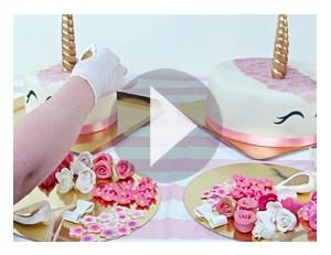 Tak tworzysz swój tort jednorożec