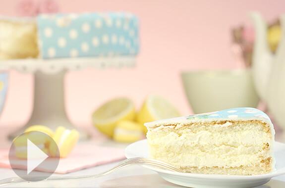 Zitronen-Torte