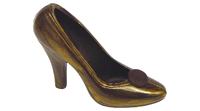 Złoto-brązowy pantofelek