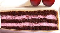 Ciasto czekoladowe z nadzieniem wiśniowym