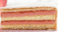 Ciasto waniliowe z nadzieniem malinowym