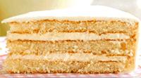 Ciasto waniliowe z nadzieniem cytrynowym