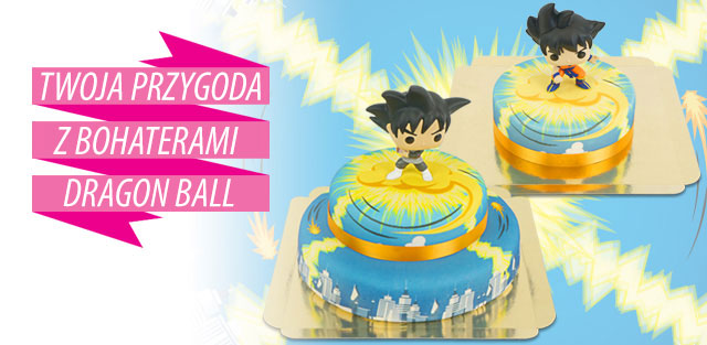 Dragon Ball na torcie!