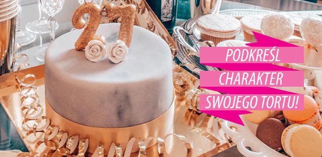Wstążki na tort