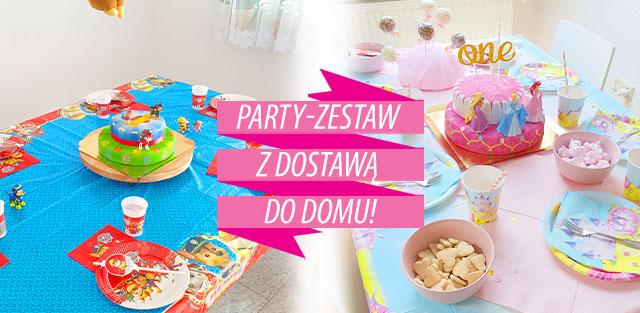 Zestaw na dziecięce imprezy