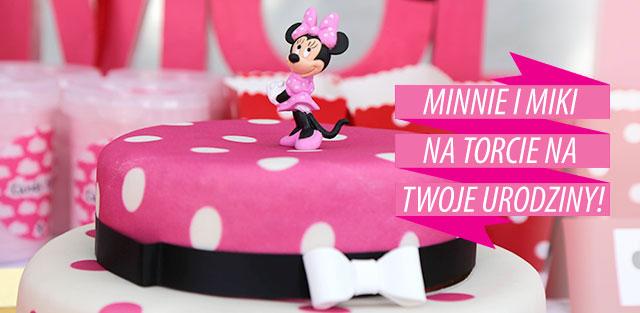 Torty z Myszką Minnie