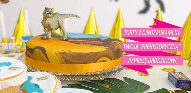 Torty z dinozaurami
