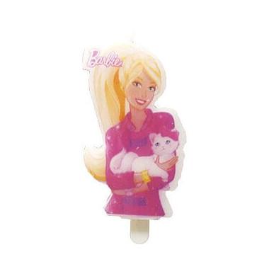 Świeczka na tort - Barbie