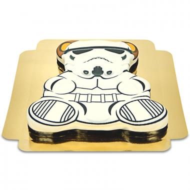 Tort w kształcie misia - Lord Vader