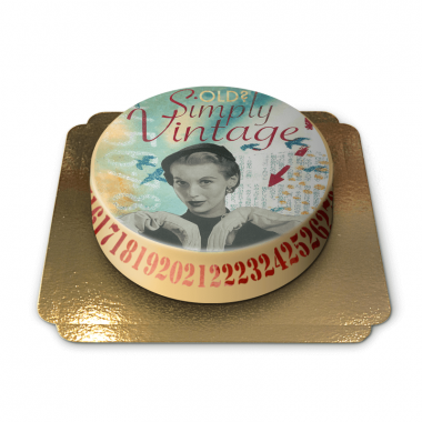 Tort Vintage projektu Pia Lilenthal