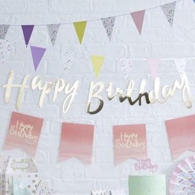 """Zestaw dekoracyjny """"Urodziny w kropki"""""""