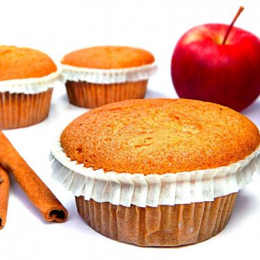 Muffiny jabłkowo-cynamonowe 9 sztuk