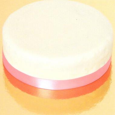 Wąska wstążka tortowa, różowa
