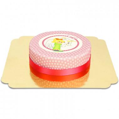 Bibi Blocksberg i jednorożec - tort