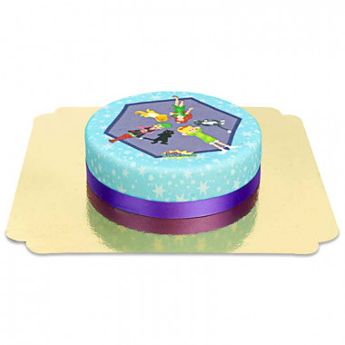 Bibi Blocksberg i jej przyjaciele - tort