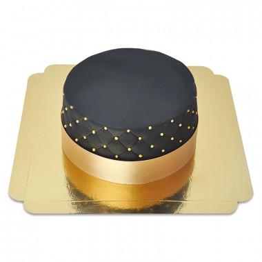 Czarny Tort Deluxe – podwójna wysokość