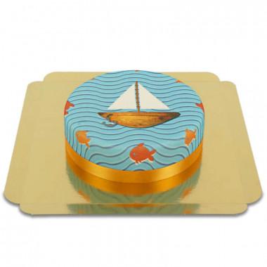 Łódka-Tort