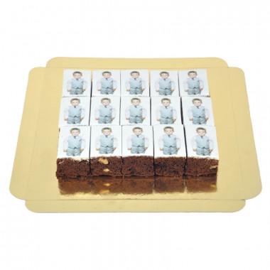 Brownies ze zdjęciem (15 sztuk)