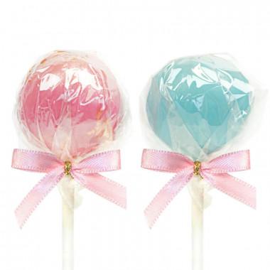 Cake-Pops w kolorowej polewie (12 sztuk)
