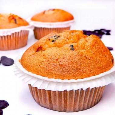 Muffiny z czekoladowymi chipsami 9 sztuk