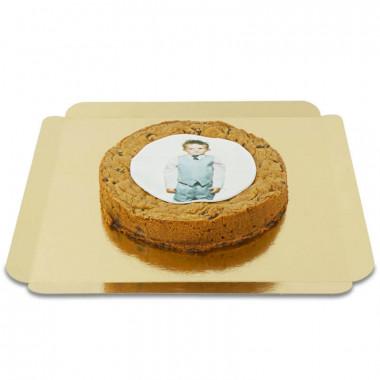 Cookie-cake ze zdjęciem