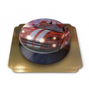 Tort z samochodem wyścigowym Dodge Viper