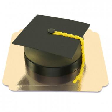 Tort dla absolwentów czarny Biret