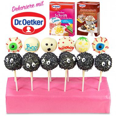 Cake-Popsy Halloweenowe Dr. Oetker