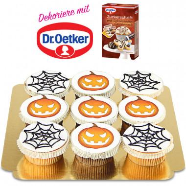 Babeczki Halloweenowe Dr. Oetker'a