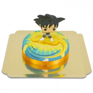 Goku Black z Dragon Ball na torcie Nimbus