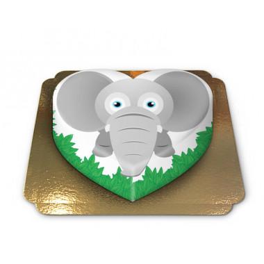 Tort - słoń