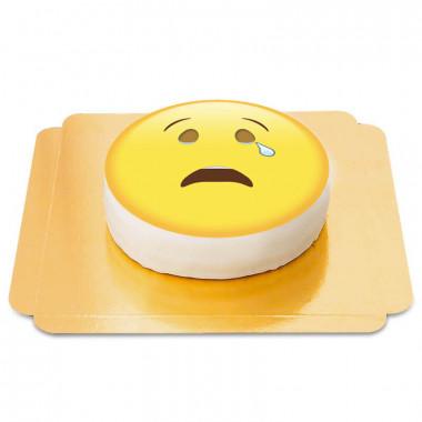 Tort płacząca emotikona