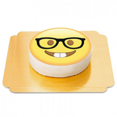 Nerd Emoji-Torte