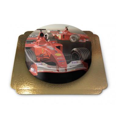 Tort z samochodem wyścigowym Formuły 1