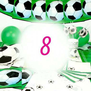 Zestaw Piłki Nożnej dla 8 Osób - bez Tortu