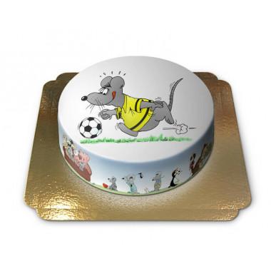 Myszka grająca w piłkę nożną