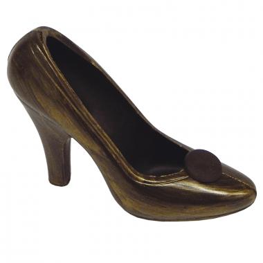 Złoto-brązowy czekoladowy pantofelek