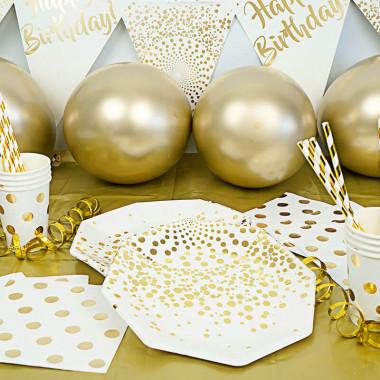 """Zestaw imprezowy - """"Złote urodziny"""""""