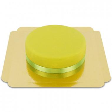 Zielony Tort -  ze wstążką