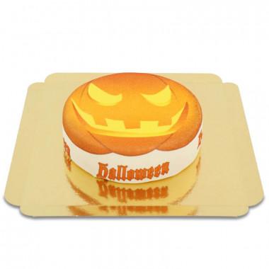 Tort na halloween z dynią