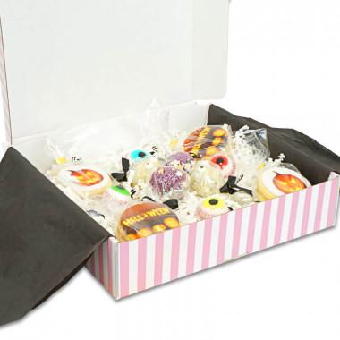 Halloweenowe pudełko prezentowe