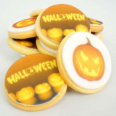 Ciastka na Halloween (12 Sztuk)