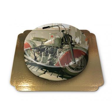 Tort z motorem Harley Davidson