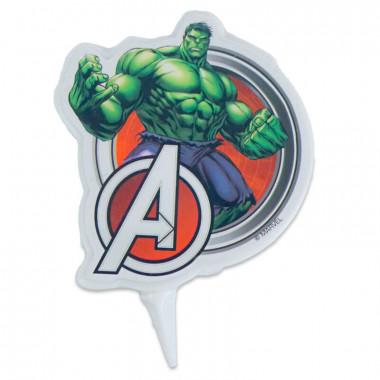 Świeczka na tort Hulk