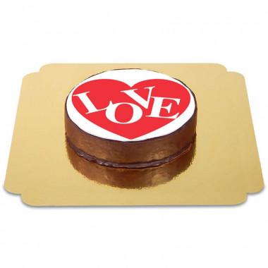 Tort Sachera czekoladowy - Love