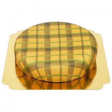 Beżowy Tort Szkocki