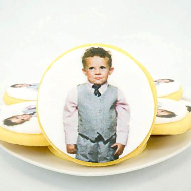 Okrągłe Ciastko ze zdjęciem (12sztuk)
