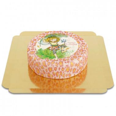 Tort lampardzi z księżniczką Lillifee.