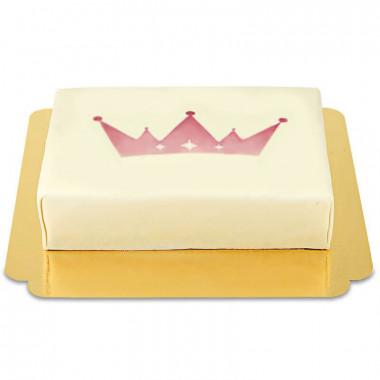 Tort z logiem M - 25 x 17 cm