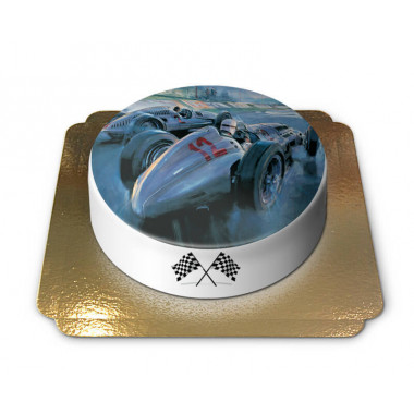 Tort z wyścigówką